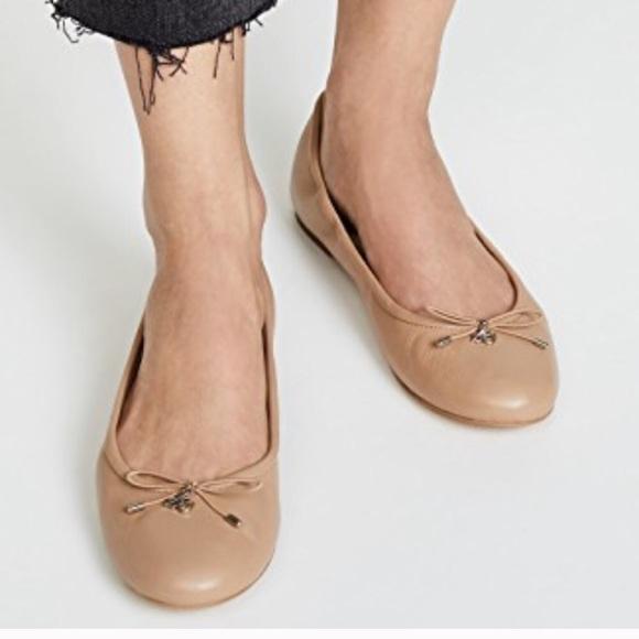 d5abb9e5821bd Sam Edelman Nude Felicia Ballet Flats. M 5bce6c397386bc3b8a84593f